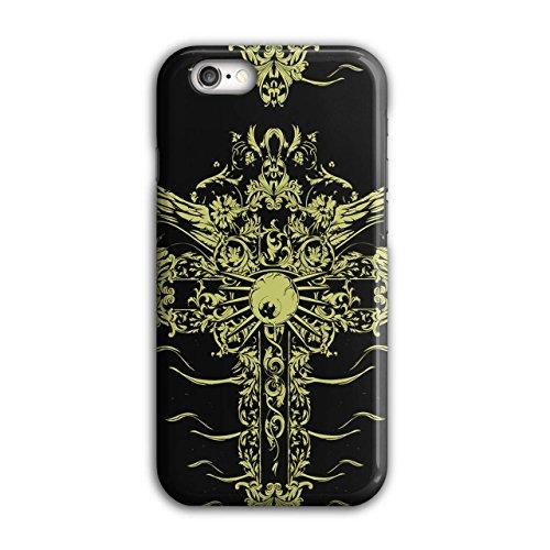 gotisch Punk Kreuz Mode Grab Stein iPhone 6 / 6S Hülle | (Rock Kostüm Punk Weibliche)