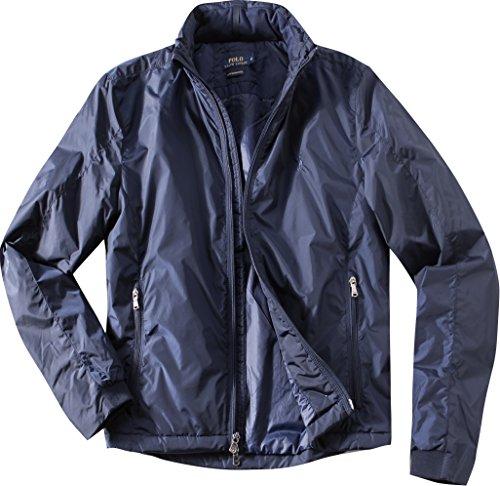 Preisvergleich Produktbild Polo Ralph Lauren Herren Jacke Jack modisches Langarmoberteil Uni & Uninah, Größe: L, Farbe: Blau