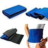 Fat Cellulite Burner Slimming Exercise Waist Sweat Belt Body Wrap Sauna Neoprene - One Size Fits All