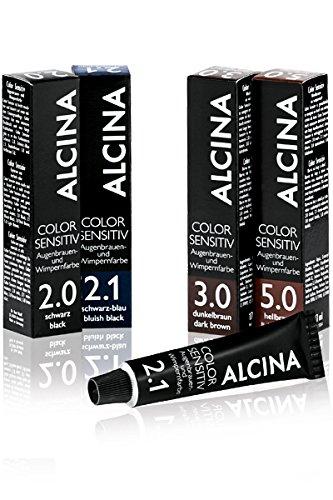 Alcina professional color sensitiv 3.0 dunkelbraun Augenbrauen-und Wimpernfarbe
