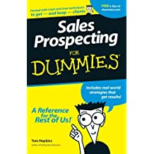 Sales Prospecting For Dummies by Tom Hopkins (1998-04-17)
