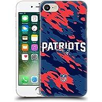 Ufficiale NFL Camou New England Patriots Logo Cover Retro Rigida per Apple iPhone 7