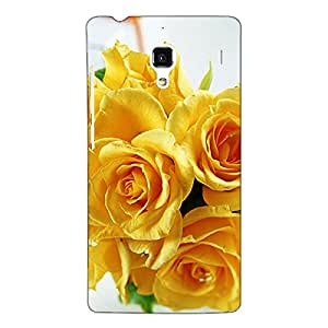 Jugaaduu Roses Back Cover Case For Redmi 1S