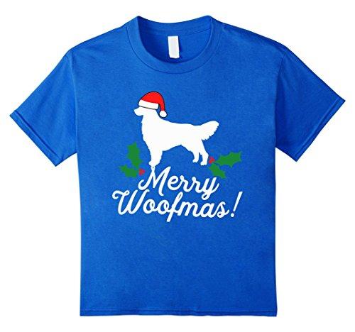 Merry Woofmas Golden Retriever Christmas Dog T-Shirt