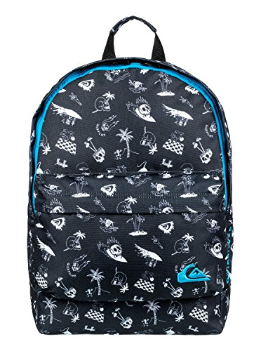 Quiksilver Herren SMALLEVERYDAYPO Backpack, Schwarz (True Black), 40 Centimeters
