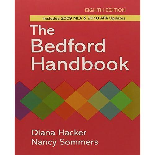 Bedford Handbook 8e paper & CompClass by Diana Hacker (2010-07-15)