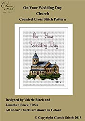 On Your Wedding Day Church Cross Stitch Pattern