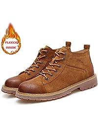 YAJIE-boots, Bottes de Travail en Plein air à la Cheville pour Hommes avec 12b6a1cdb533
