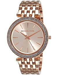Michael Kors Analog Rose Dial Women's Watch - MK3192I