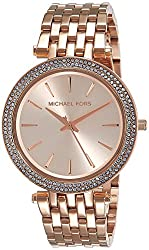 Michael Kors Analog Rose Dial Womens Watch - MK3192I