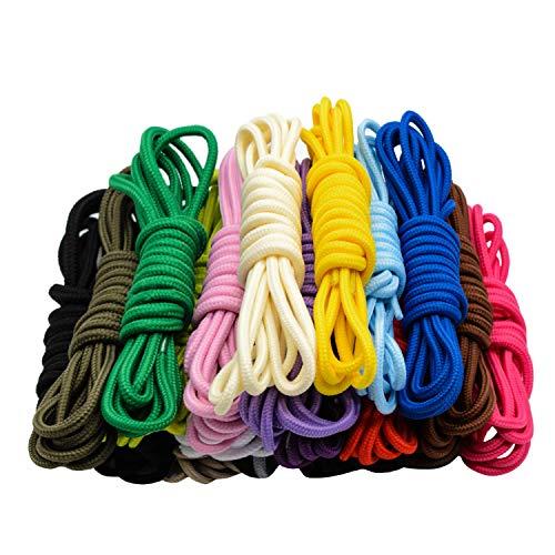 Stonges 20 pares cordones redondos surtidos color