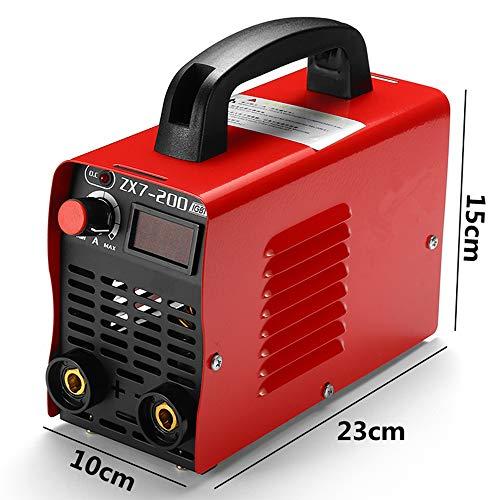 ZX7-200 220V Handheld Mini MMA Electric Welding Tool Digital 20-200A Inverter ARC