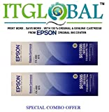 #4: Epson FX-890/875 [Pack of 2] Original Ribbon Cartridge--Special ITGLOBAL Combo With Scratch & Win Reward Offer - From ITGLOBAL
