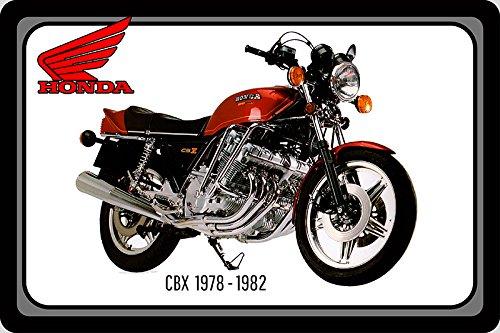 Honda CBX 1978-1982 105PS motorrad, motor bike, motorcycle blechschild (Honda Motorrad Blechschild)