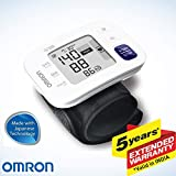 Omron HEM 6181 Fully Automatic Wrist Blood Pressure Monitor with Intelligence Technology, Cuff