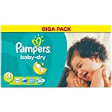 Pampers Baby Dry Taille 3 Midi 4-9kg (141) - Paquet de 6