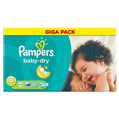 Preisvergleich Produktbild Pampers Baby Dry Taille 3 Midi 4-9kg (141) - Paquet de 6