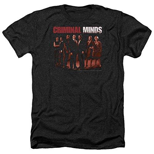 Criminal Minds TV Show CBS The Crew Adult Heather T-Shirt Tee