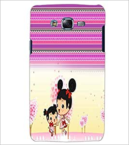 PrintDhaba Cartoon D-3522 Back Case Cover for SAMSUNG GALAXY ON 5 (Multi-Coloured)