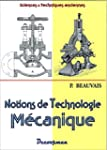 Notions de technologie m�canique