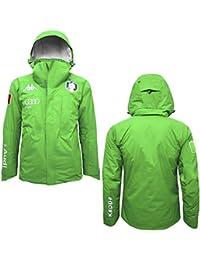 Kappa - Chaqueta 6CENTO 650A FISI para hombre - 910 - Green-Grey Silver -