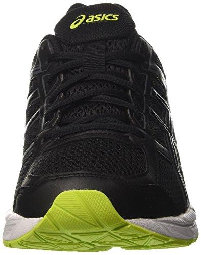 Asics Gel-Contend 4, Chaussures de Running Homme Noir (noir/noir/Energy vert)