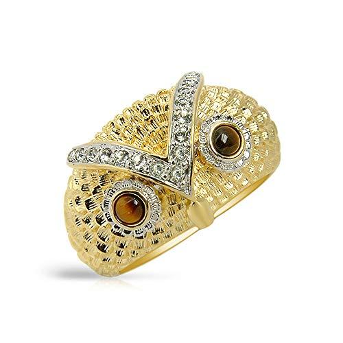 ea3b2fa09f03 The Elvis Jewellery Collection Anillo statement Hombre chapado en oro -  803R1836TB-83/Y