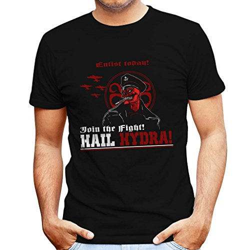 dra Red Skull Captain America Men's T-Shirt ()