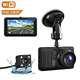 Best Car Camera Wifis - Mcscants Dual Dash Cam WiFi 1080P FHD Dashcam Review