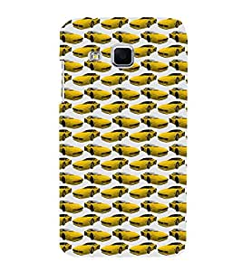 Vizagbeats Yellow Cars Back Case Cover for Samsung Galaxy J3
