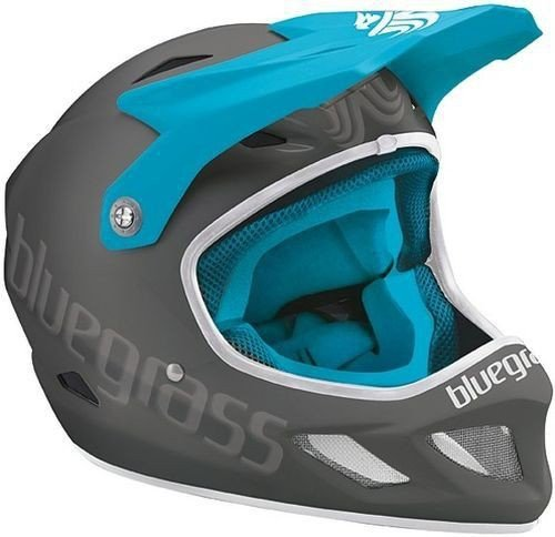 BLUEGRASS HELM EXPLICIT GR. S GREY/CYAN