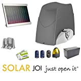 Best Residential Solar Panels - SOLAR POWERED sliding gate opener DUCATI SLIDE446 SOLAR Review