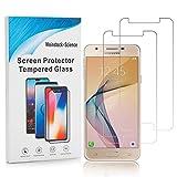 Weinstock-Science | 2X bruchsicheres Panzerglas für Samsung Galaxy J5 2017 | Schutzfolie aus 9H Echt Glas