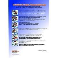 10 sheets of water slide decal paper transfer foil film A4 chiaro for inkjet printers - Water Slide Transfer