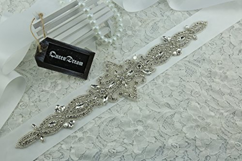 queendream strass applique cintura applique in cristallo Trim Trim, all'