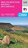 Brecon Beacons 1 : 50 000 (OS Landranger Map)