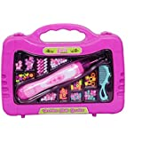 Planet of Toys Fashion Hair Beads Set With Electric Hair Roller For Girls
