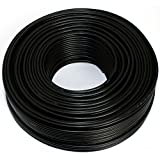 Lautsprecherkabel 2x2,50mm2 - 50m - schwarz - CCA - Audiokabel - Boxenkabel