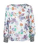 Emily van den Bergh Damen Bluse Größe 40 Mehrfarbig (bunt)