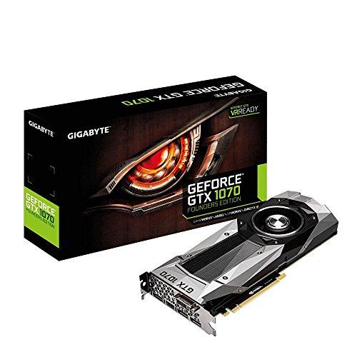 Preisvergleich Produktbild Gigabyte GeForce GTX 1070 GV-N1070 D5-8GD-B  Founders Edition