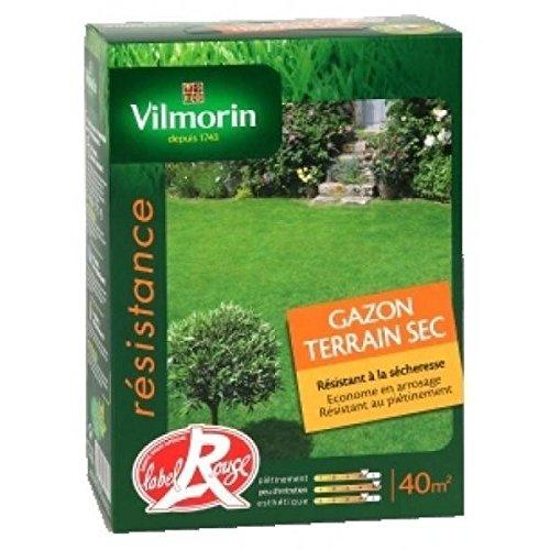 Vilmorin - Gazon terrains secs