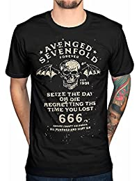 Official Avenged Sevenfold Seize The Day T-shirt Rock Band Merch