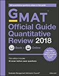 A supplement to the Official Guide with 300 additional quantitative questionsThe GMAT Official Guide Quantitative Review provides targeted preparation for the mathematical portion of the GMAT exam. Designed by the Graduate Management Admission Counci...