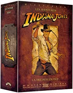 Indiana Jones : La Trilogie - Coffret 4 DVD