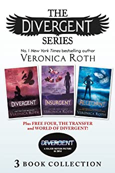 Divergent Series (Books 1-3) Plus Free Four, The Transfer and World of Divergent by [Roth, Veronica]