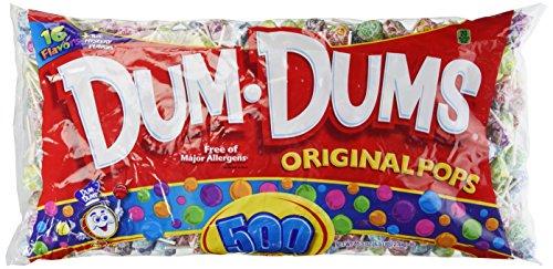 - Dum Dum Pops 85.5 oz, 500-Count by Dum Dum