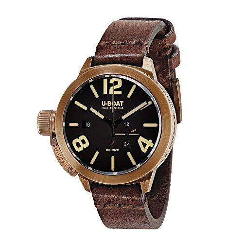 U-Boat Classico Automatic Watch, Bronze, Brown, 50mm, 8104