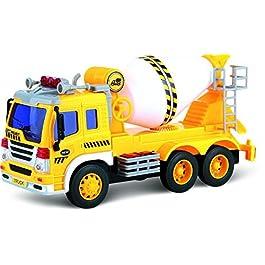ThinkGizmos Automezzo Camion Betoniera con Carica ad attrito – TG640-C – Creato (Marchio pro