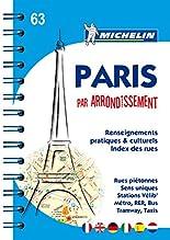 Michelin Paris par arrondissement: Stadtplan mit Spiralbindung, 1:10.000 (Michelin Stadtplan) hier kaufen