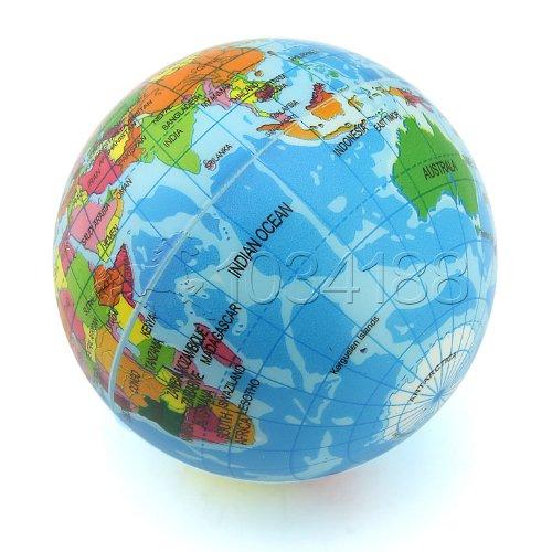Ballen_Ma - Esponja con forma de globo terráqueo